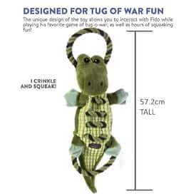 PETSTAGES ROPES-A-GO GATOR